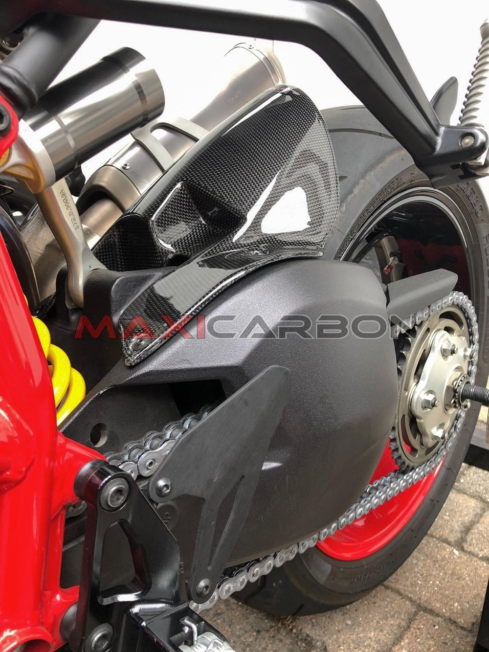 Parafango posteriore in carbonio per Ducati Streetfighter