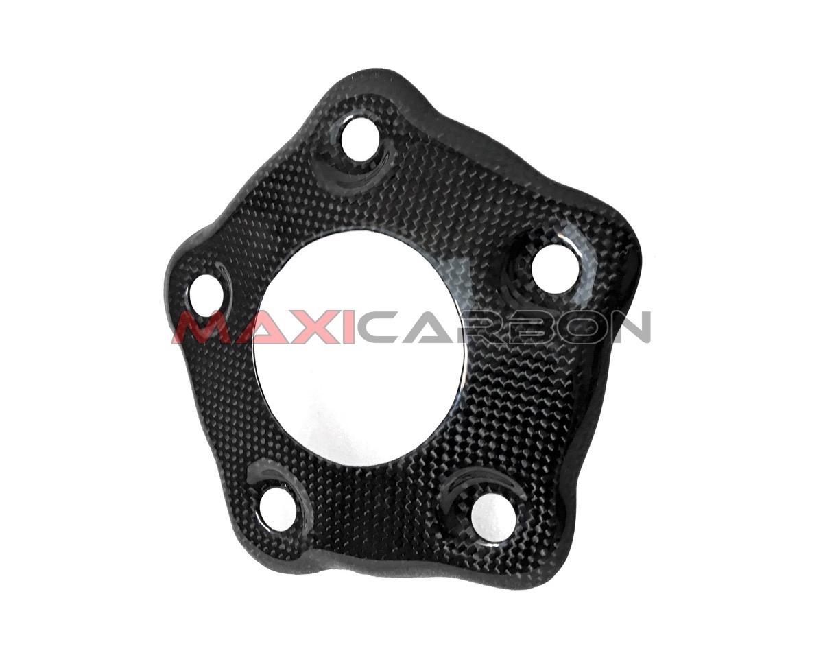 Ducati 848 1098 1198 Engine Sprocket Chain Case Cover Fairing Cowl Carbon Fiber