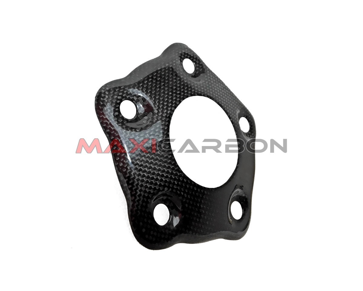 FRONT SPROCKET COVER OPEN SHINED CARBON FIBER DUCATI 848 STREETFIGHTER /'12///'14